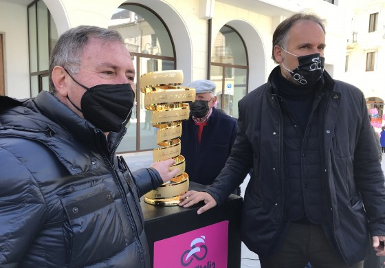 Trofeo Senza Fine a Castel di Sangro, il Giro d'Italia 2021 fa sognare l'Abruzzo