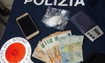 Arresto per detenzione di stupefacenti, sequestrati 29 grammi di cocaina