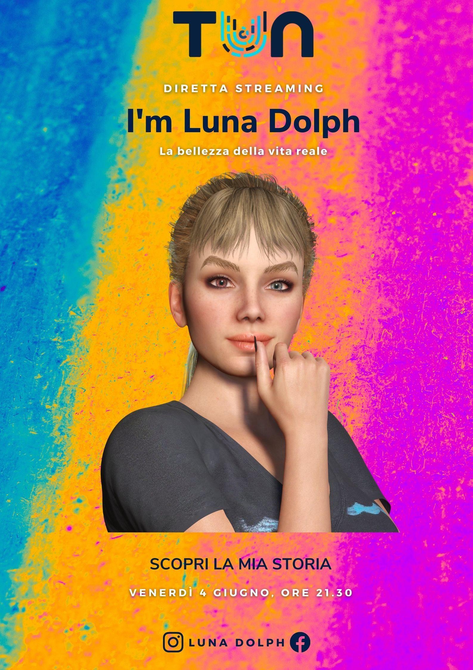 Luna Dolph influencer virtuale