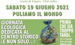 Puliamo il Mondo 2021: Legambiente Abruzzo, raccolta di rifiuti a Castel di Sangro