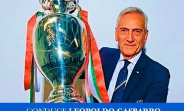 Gabriele Gravina dalla promozione in B con il Castel di Sangro alla vittoria dell'Europeo con la Nazionale Italiana, 25 anni dopo