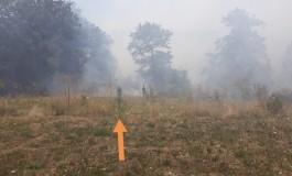 Incendio Ateleta, Vigili del Fuoco e volontari combattono per domare le fiamme