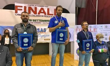 Andrea Pirone conquista il titolo di Campione Italiano di pesca a mosca a Castel di Sangro
