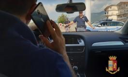 """Guida con cellulare: controllo a tappeto della Polizia, operazione """"Focus on the road"""""""