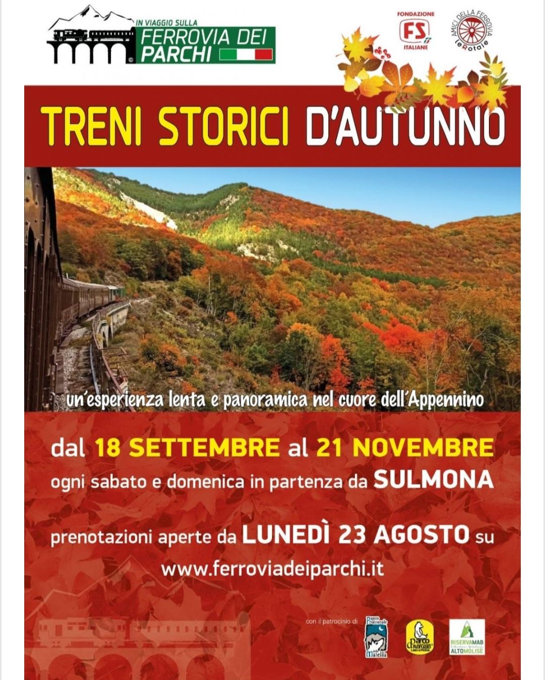 treno storico - transiberiana d'italia