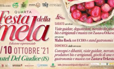 Festa della Mela Castel del Giudice, 4° edizione esperienziale sabato 9 e domenica 10 ottobre