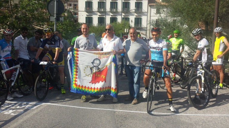 Civitella Alfedena, Stefano Pelegrini vince la 32^ cronoscalata ciclistica