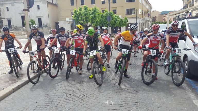 Competizione XC a Castel di Sangro, sul podio un castellano