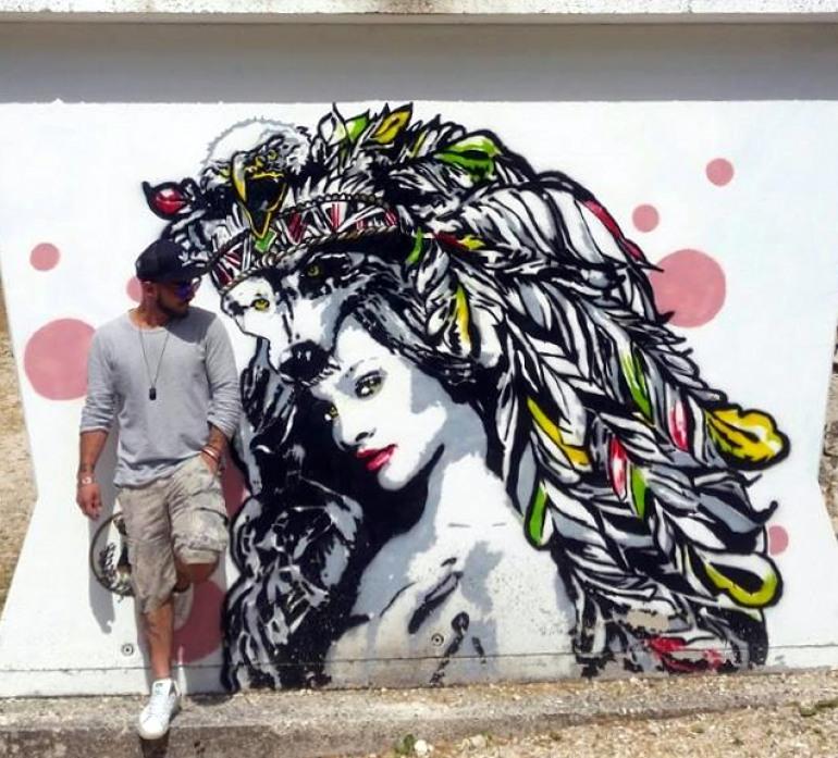 'Street Art' a Civitella Alfedena con i writers molisani