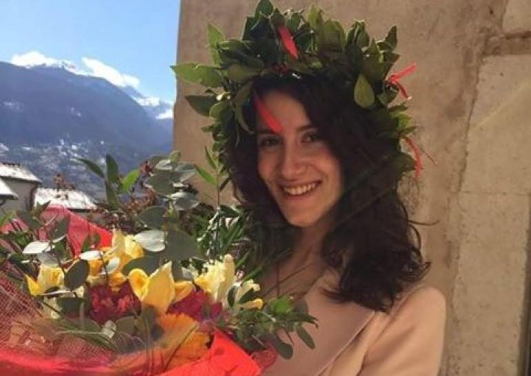 Laurea – Auguri a Meghi Quaranta, dottoressa in Economia e Management