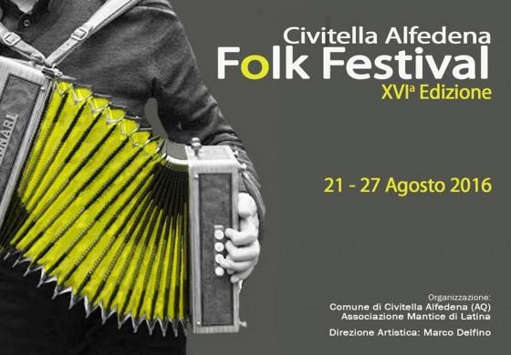 Folk Festival a Civitella Alfedena, si inizia oggi alle ore 17