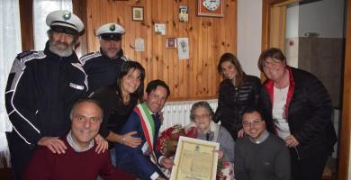 Roccaraso, spegne 100 candeline Estefania Sabatini