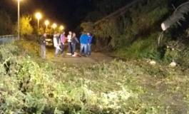 Maltempo in Alto Sangro, sgombero stradale: all'opera Vigili del Fuoco, Protezione Civile e Anas