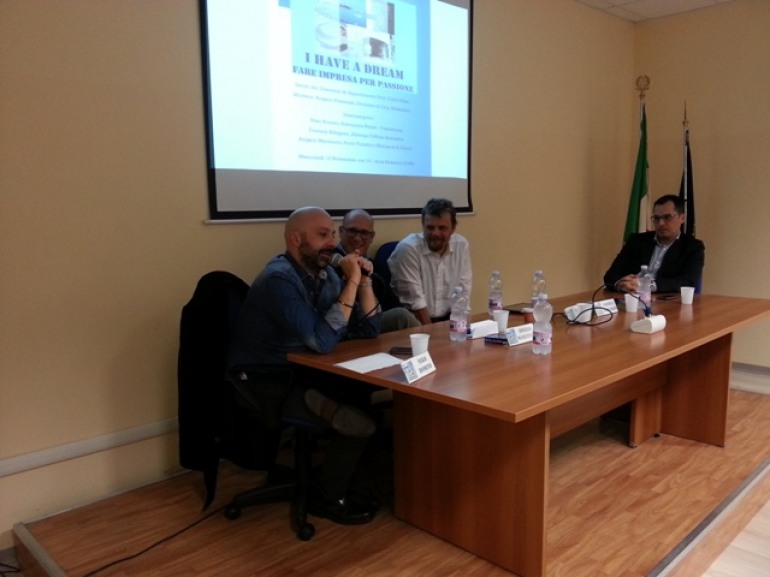 Il sogno di Niko Romito diventa cultura all'Ateneo di Pescara