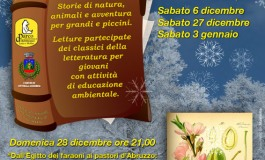 Natale al Parco nei centri visita di Pescasseroli e Civitella Alfedena