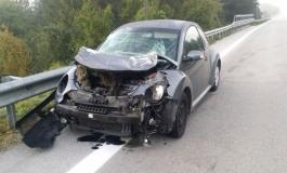 SS 652, automobilista di Castel di Sangro si schianta contro un cervo