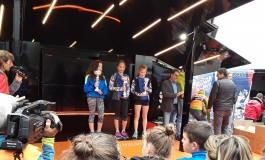 Coppa Italia Skiroll, medaglia di bronzo a Silvia Di Tanna dello Sci Club Capracotta