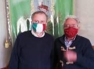 L'alta moda griffa le mascherine di Capracotta con Sebastiano Di Rienzo