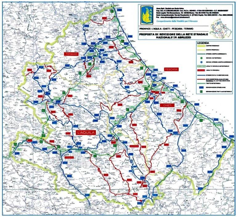 Viabilità: 453 km di strade provinciali tornano allo Stato per la manutenzione