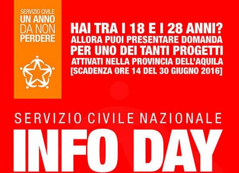 """Servizio civile, """"info day"""" a Castel di Sangro"""