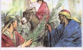 Domenica delle palme, Gesù entra a Gerusalemme osannato dalla folla