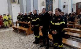 Castel di Sangro, Messa a Santa Barbara in ricordo dei vigili del fuoco caduti in servizio