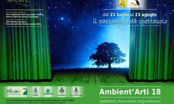 Pnalm, 'Ambient'Arti 18' il paesaggio che dà spettacolo