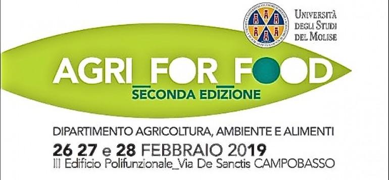 'Agri for food', 3 giorni di orientamento organizzati dall'Unimol a Campobasso