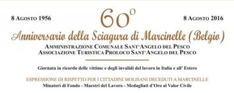 Sant'Angelo del Pesco commemora il 60° anniversario della tragedia a Marcinelle