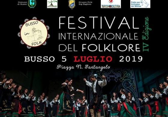 Busso, 4^ edizione del festival internazionale del folklore