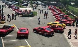 Castel di Sangro, raduno della scuderia Ferrari Club Viterbo: 8 - 9 giugno