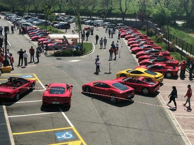 Castel di Sangro, raduno della scuderia Ferrari Club Viterbo: 8 – 9 giugno
