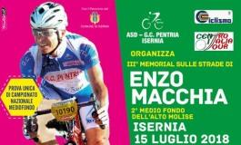 Ciclismo, domenica a Isernia il terzo memorial dedicato a Enzo Macchia