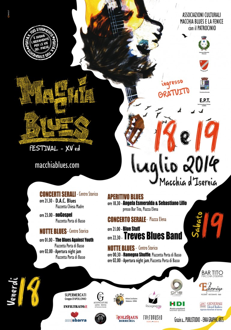 "Weekend per intenditori al ""Macchia Blues Festival"""