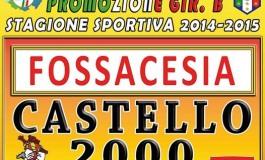 Ecco il calendario del campionato di promozione del Castello 2000