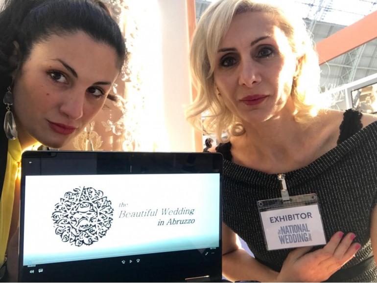 Londra, Scurti e Fioritto sono le ambasciatrici del wedding in Abruzzo