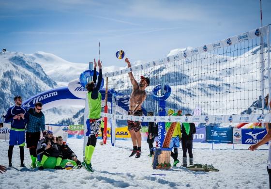 Tour europeo Snow Volley 2018, per la prima volta fa tappa a Roccaraso