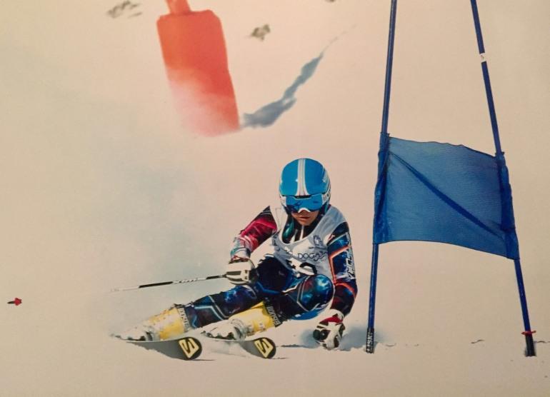 Roccaraso, campionati regionali sci alpino: Valentini vince l'oro