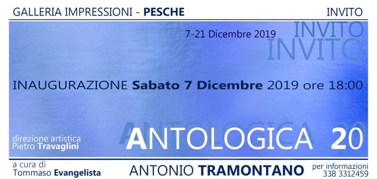 """Pesche, Antonio Tramontano espone """"Antologica 20"""""""