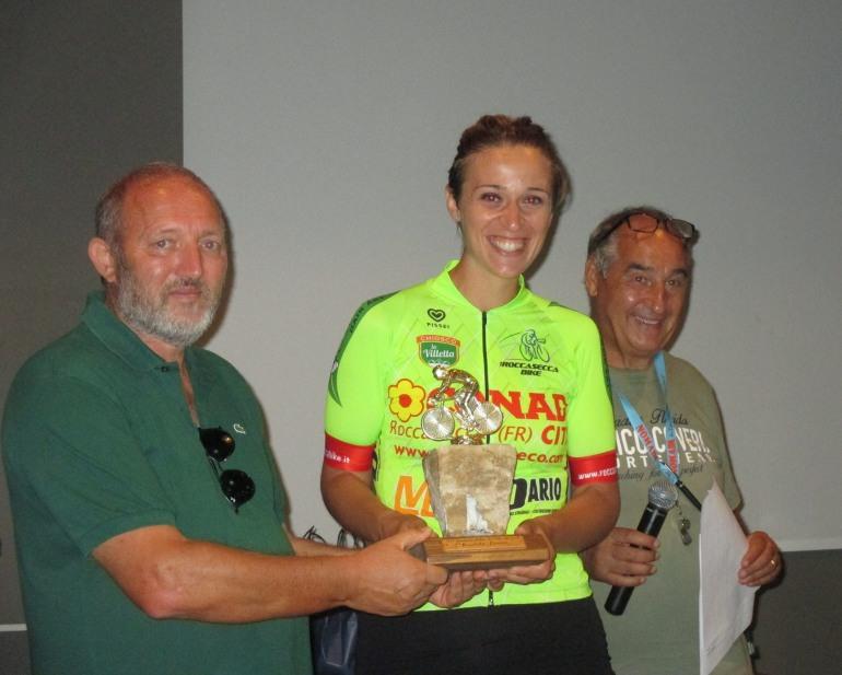 Civitella Alfedena, Fatone e Aravini vincono la cronoscalata ciclistica