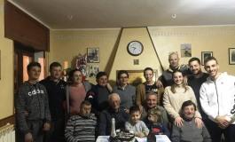 Auguri ad Ascenzo Masciotra per le sue ottantasei primavere