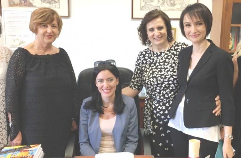 La ministra Azzolina incontra i vertici delle scuole altomolisane