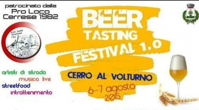 'Beer Tasting' e 'Sposa nel tempo', gli eventi clou di Cerro al Volturno
