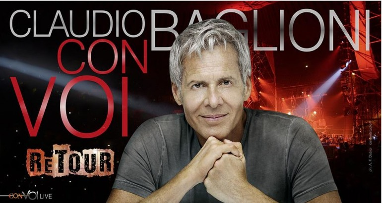 """Claudio Baglioni """"Con Voi ReTour"""" a Roccaraso"""