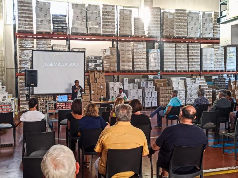 Banco Alimentare Abruzzo e Molise, cresciuti del 23% i kg di cibo distribuiti ai poveri
