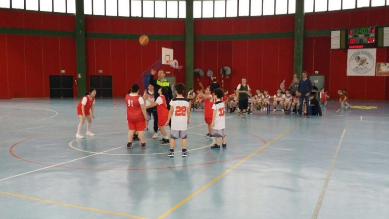 Minibasket,  Castel di Sangro e Isernia 'In Movimento' al Palazzo dello Sport