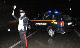 Blitz notturno dei Carabinieri: pattuglie, appostamenti e controlli alle automobili
