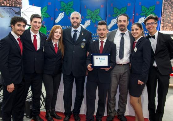 Roccaraso, alberghiero sugli allori con Angelo De Luca al concorso interregionale Saral Food