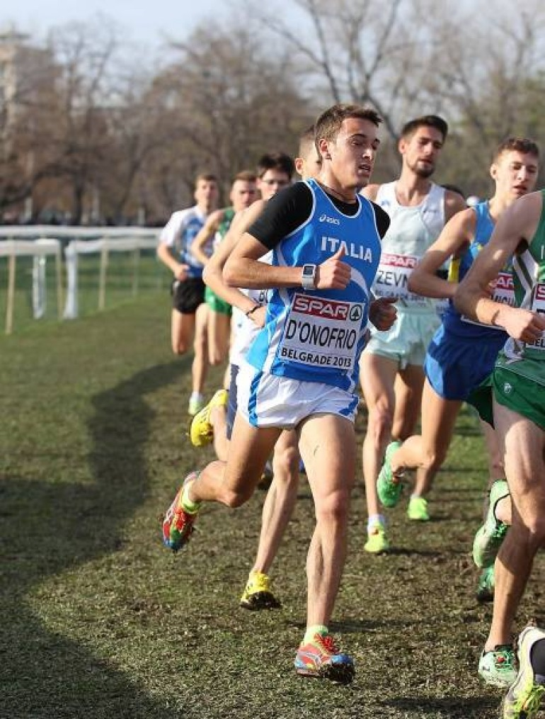 Il maratoneta, Daniele D'Onofrio conquista l'argento a Torino