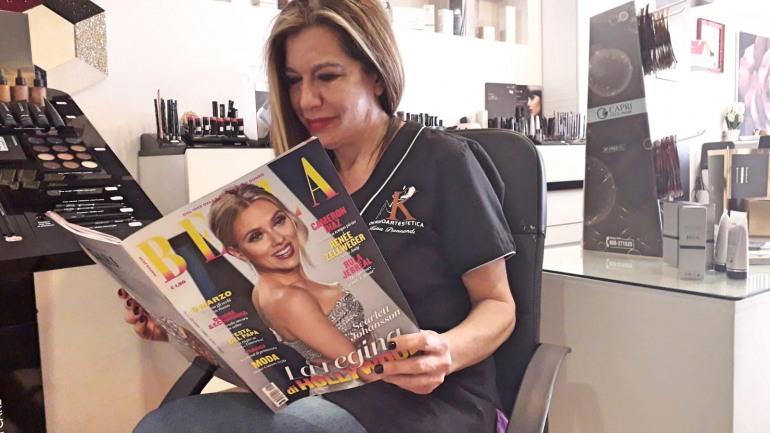 Castel di Sangro, la rivista 'Bella' esalta la dermoartestetica di Katia Buonandi